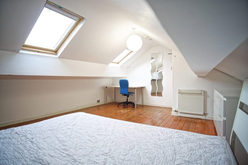 Attic Bedroom In Young Professional House Share Preston
