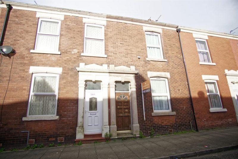 2 Bed terraced property for sale on Fletcher Road, Preston